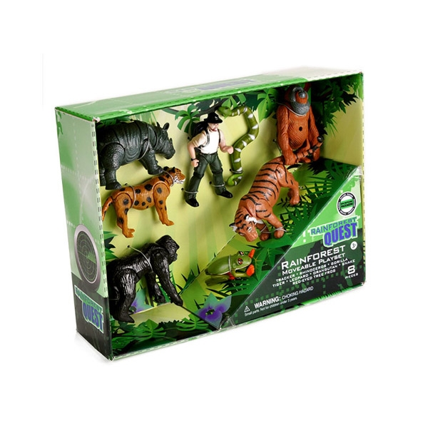 RAINFOREST QUEST MOVEABLE PLAYSET