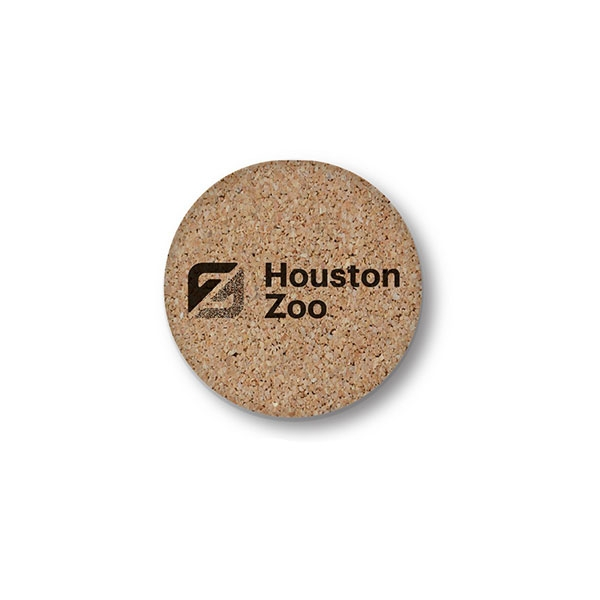 LOGO CORK COASTER
