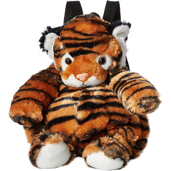 TIGER PLUSH BACKPACK