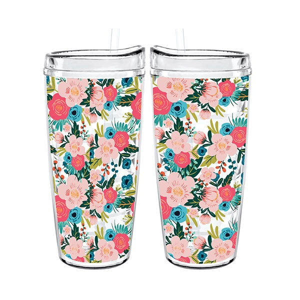 BOTANICAL TIGRESS TUMBLER