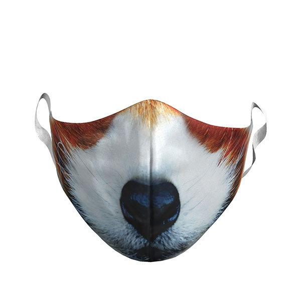 ADULT RED PANDA FACE MASK