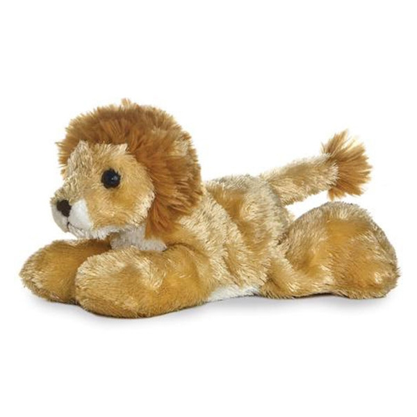 LIONEL LION MINI FLOPSIE PLUSH