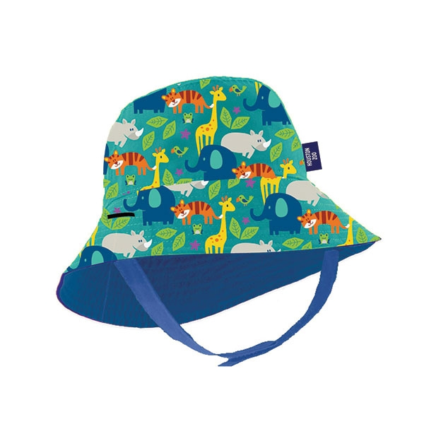 STACKING ZOO INFANT BUCKET HAT