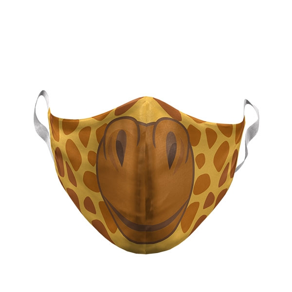 TODDLER GIRAFFE FACE MASK
