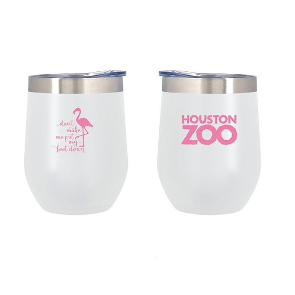 FLAMINGO FOOT TUMBLER