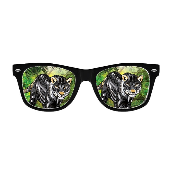 POP CULTURE CHEETAH SUNGLASSES