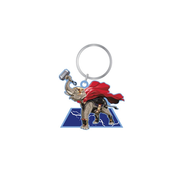 POP CULTURE ELEPHANT KEYCHAIN
