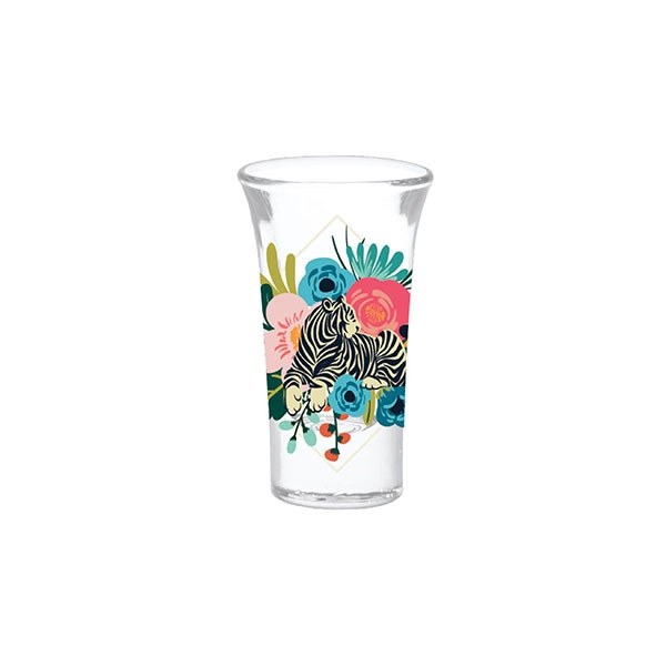 BOTANICAL TIGRESS SHOT GLASS