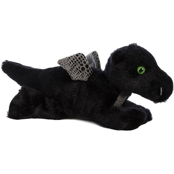 MIDNIGHT DRAGON MINI FLOPSIE PLUSH