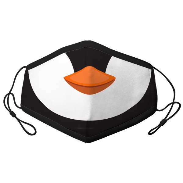 ADULT ADJUSTABLE PENGUIN FACE MASK