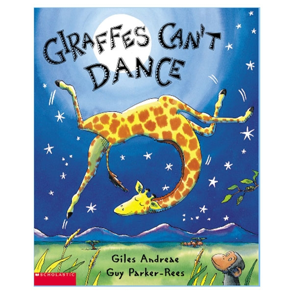 GIRAFFES CAN'T DANCE BOARD BOOK
