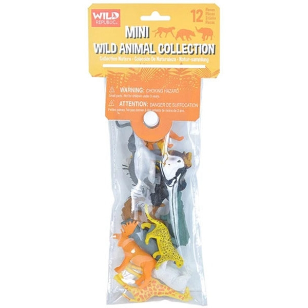 MINI POLYBAG WILD ANIMALS