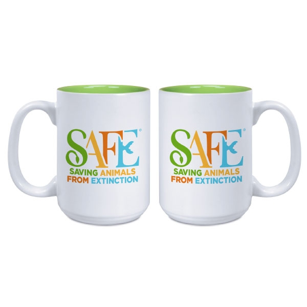 SAFE MUG- LIME GREEN