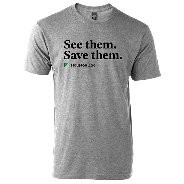 ADULT UNISEX TEE SEE THEM SAVE THEM