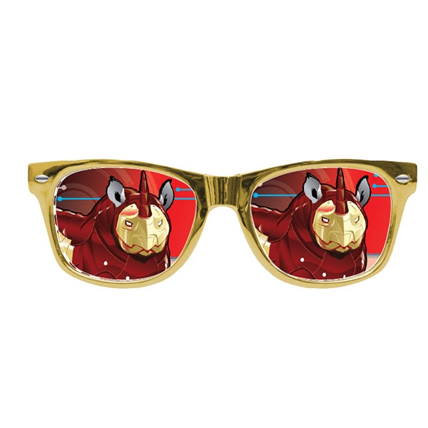 POP CULTURE RHINO SUNGLASSES
