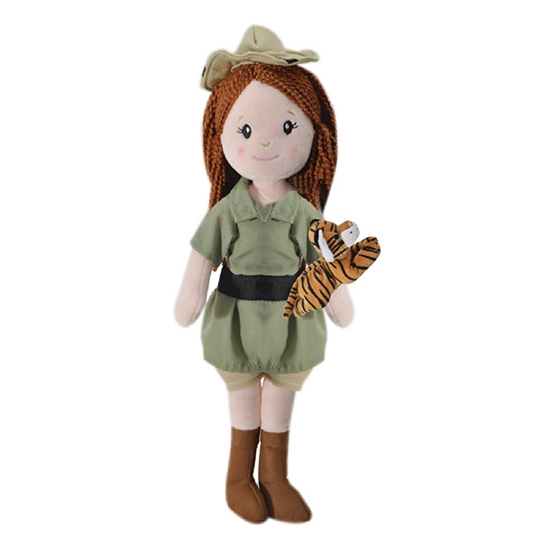 ZOOKEEPER DOLL WITH TIGER