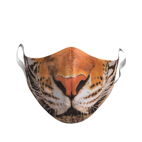 ADULT LARGE TIGER FACE MASK